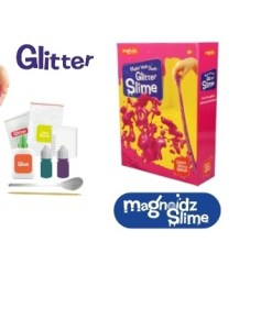 Magnoidz Make Your Own Glitter Slime Kit sold by Gifts for Little Hands