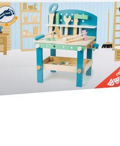 Wooden Nordic Kids Workbench