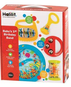 Baby's First Bithday Band Musical Instrument Gift Set
