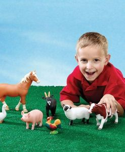 Learning Resources Jumbo Farm Animals Educational Toys Farm Toys