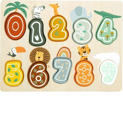 Safari Numbers Puzzle