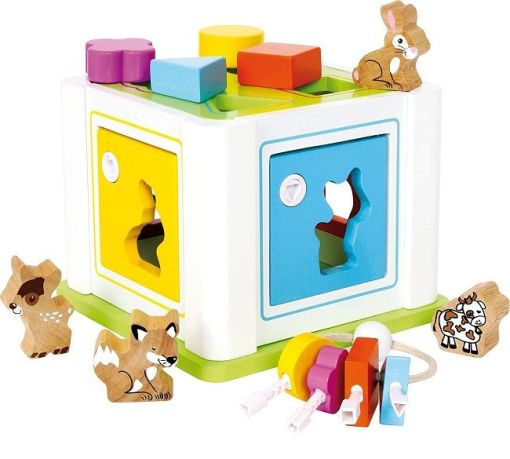 Legler Animal Shape Sorter Box