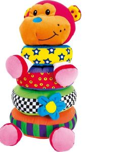 Legler Pile-up Stacking Monkey