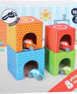 Legler Stacking Cubes Vehicles