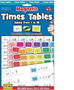 Times Tables Magnetic Set