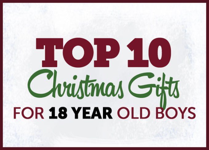 christmas gifts 18 year old boys top 10 archives gifts for teen boys - 11 Year Old Christmas List