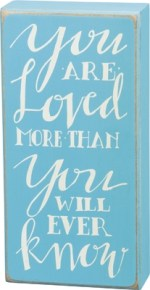 Blue Baby Sign with Quote, Saying | Gifts from the South