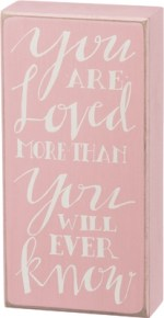 Pink Baby Sign with Quote, Saying   Gifts from the South