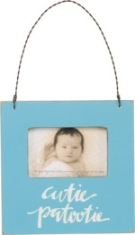 Blue Baby Photo Frame | Gifts from the South