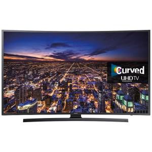 Samsung UE48JU6500 Curved 4k Ultra HD Smart TV Front View
