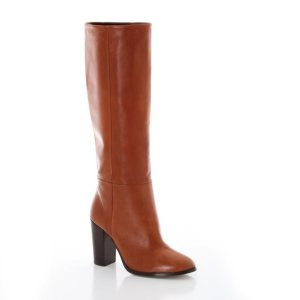 Vintage Style Leather Boots by R edition at La Redoute