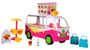 Shopkins Scoops Ice Cream Truck Play Set Unboxed