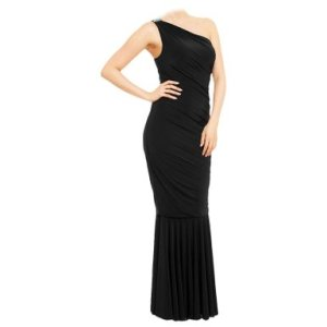 Black Butterfly Stunning Long Evening Prom Maxi Gown Dress