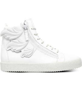 GIUSEPPE ZANOTTI Kanye leather high-top trainers