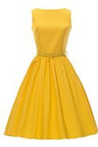 ILover Classic 50s Audrey Hepburn Boat Neck Black Swing Retro Vintage Dress