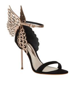 Evangeline rose gold sandal Sophia Webster