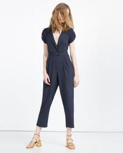 Long jumpsuit at Zara Gift Shopping Trends