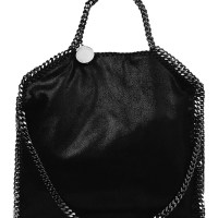 Stella McCartney Falabella Faux Suede Shoulder Bag