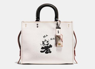 Felix Laughing Rogue In Glovetanned Pebble Leather at Coach