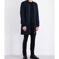 MCQ ALEXANDER MCQUEEN - Longline wool coat at Selfridges