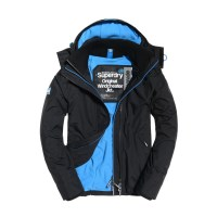 Mens Pop Zip Hooded Arctic Windcheater Jacket by Superdry