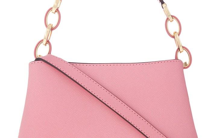 Michael Kors Portia Small Saffiano Leather Shoulder Bag