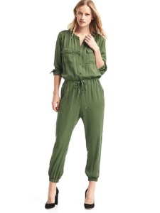 Modal utility drawstring jumpsuit at Gap