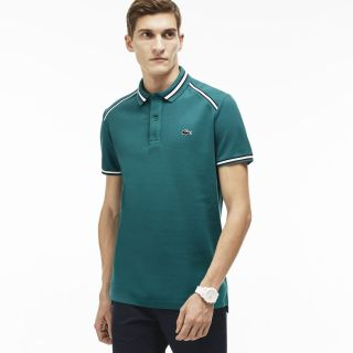 "Men's ""Made in France"" Semi-Fancy Polo by LACOSTE"