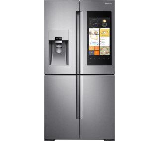 SAMSUNG Family Hub American-Style Smart Fridge Freezer at Currys