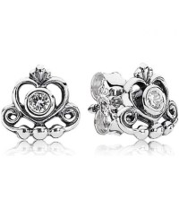 Tiara Stud Earrings at PANDORA