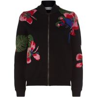 Valentino Tropical Intarsia Bomber Jacket at Harrods