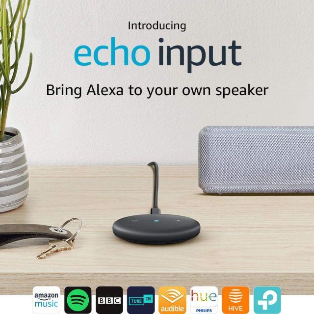 Echo Input at Amazon