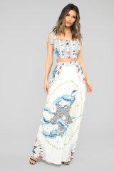 Fiji Islands Maxi skirt at Fashion Nova