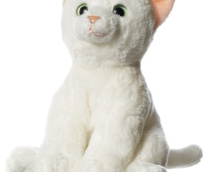 Hamleys 6-Inch White Cat