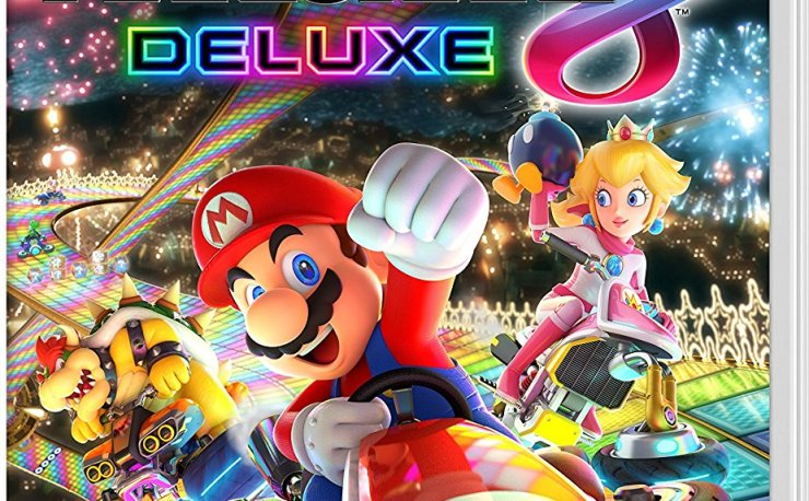 Mario Kart 8 Deluxe (Nintendo Switch) at Amazon