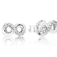 Pandora Women Silver Stud Earrings