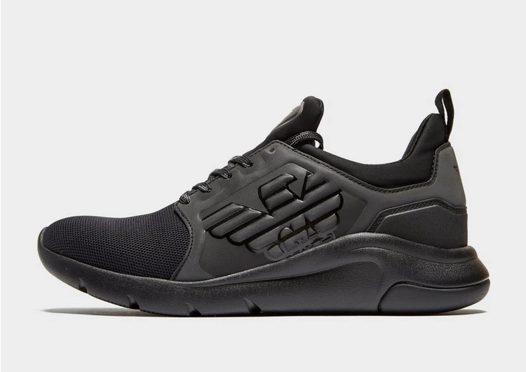 Emporio Armanu EA7 A Racer Reflex trainers at JD Sports