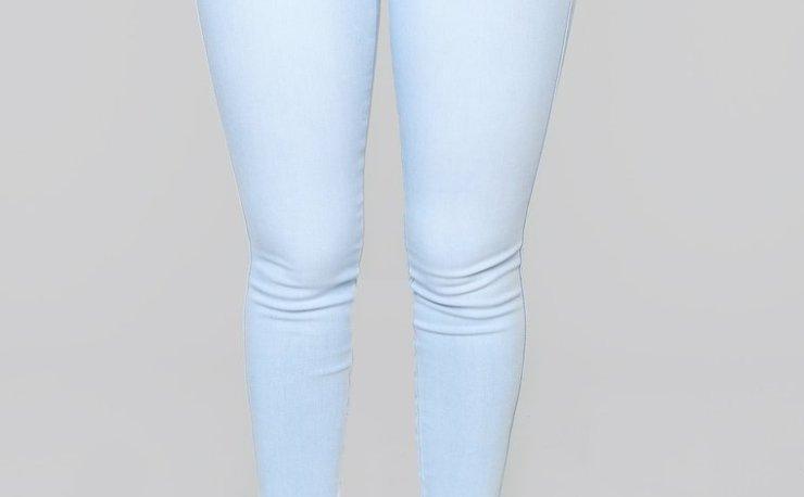 Fashion Nova's Classic Mid Rise Skinny Jeans