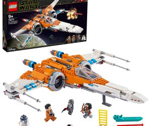 Lego Star Wars Poe Da Meron's X-wing Fighter Building set