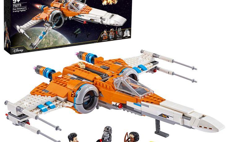 Lego Star Wars Poe Da Meron's X-wing Fighter Building set