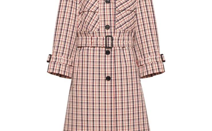 Prada Gabardine trench coat