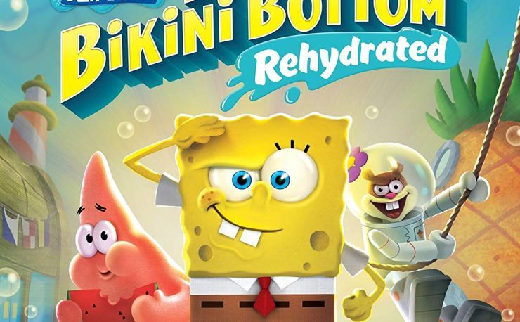 Spongebob SquarePants - Battle for Bikini Bottom Rehydrated PS4