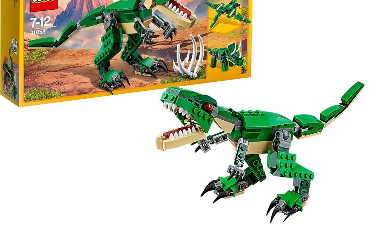 Lego 3 in 1 dinosaur