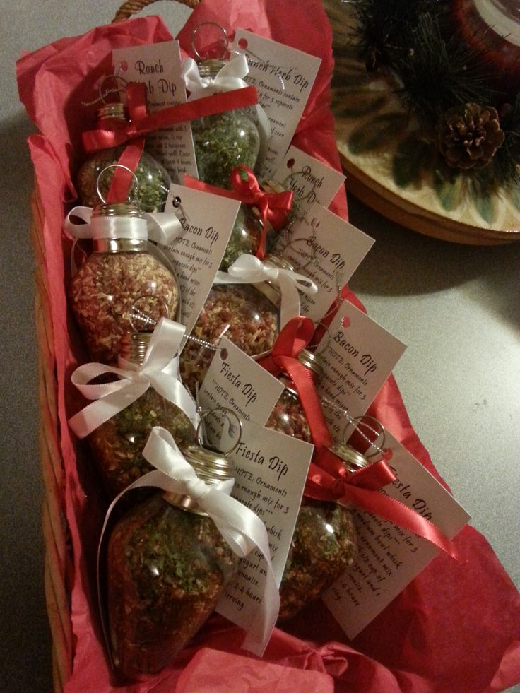 Basket Gifts Dip Mix Recipes For Ornaments Giftsmaps