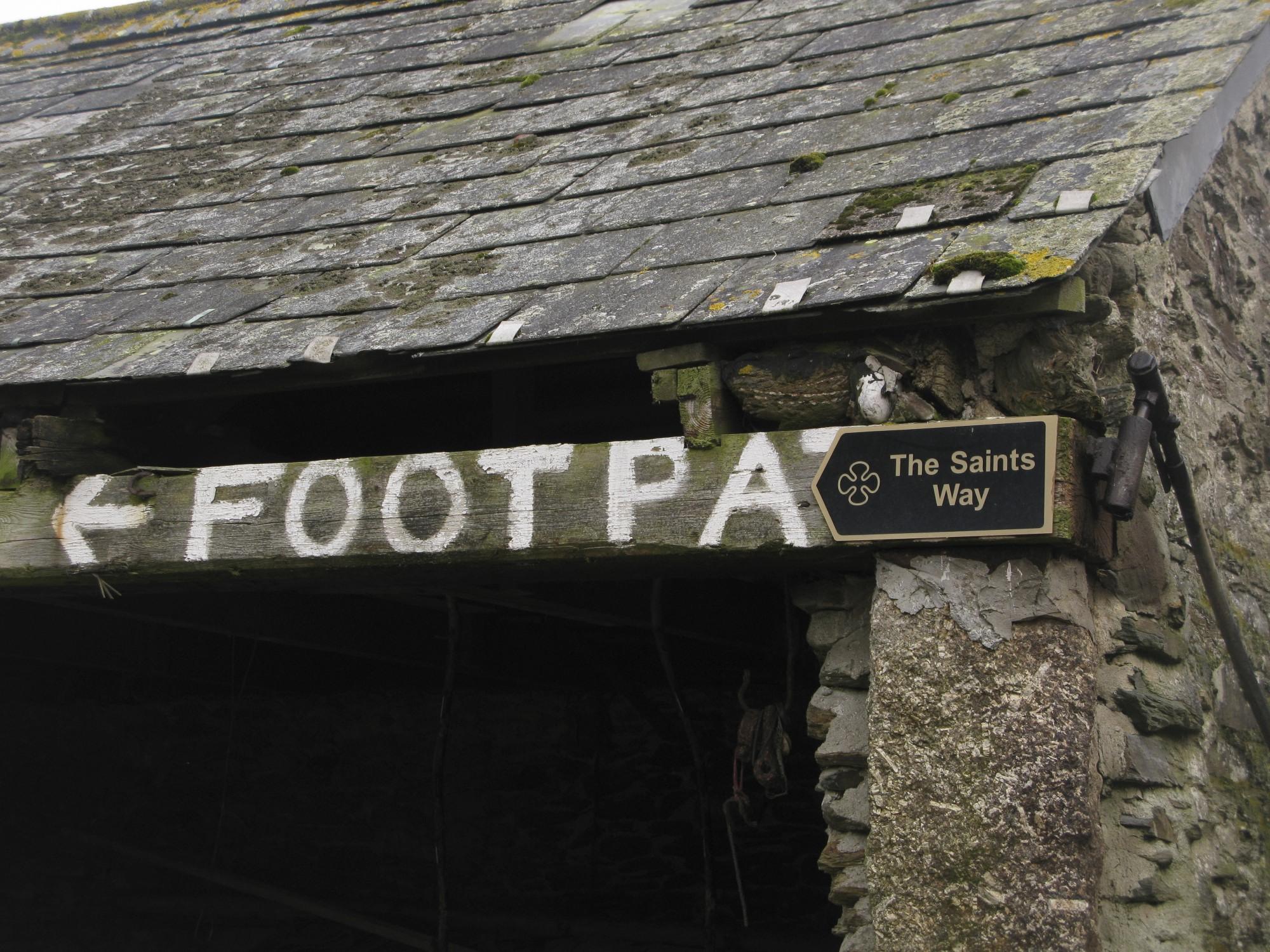 The Saint's Way Footpath