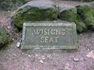 The Wishing Seat today