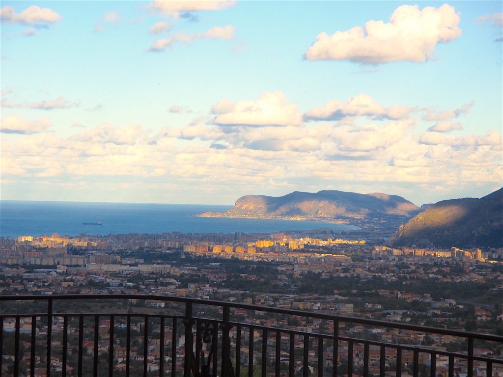 Palermo city view by Antoine Gigal