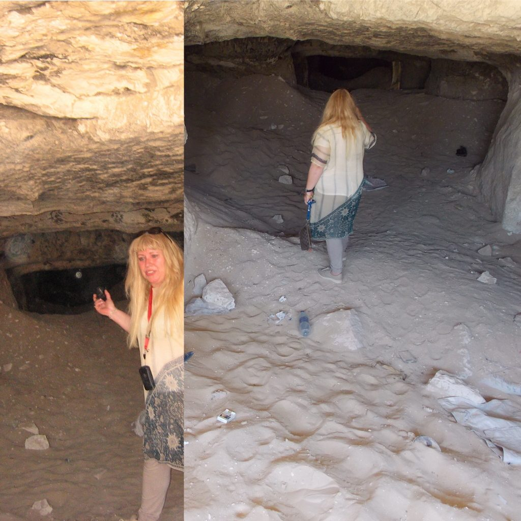 Gigal in the undergrounds of Egypt