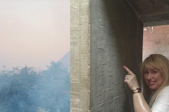 Avec Ti le Maitre des paroles secrètes à Saqqarah par Gigal