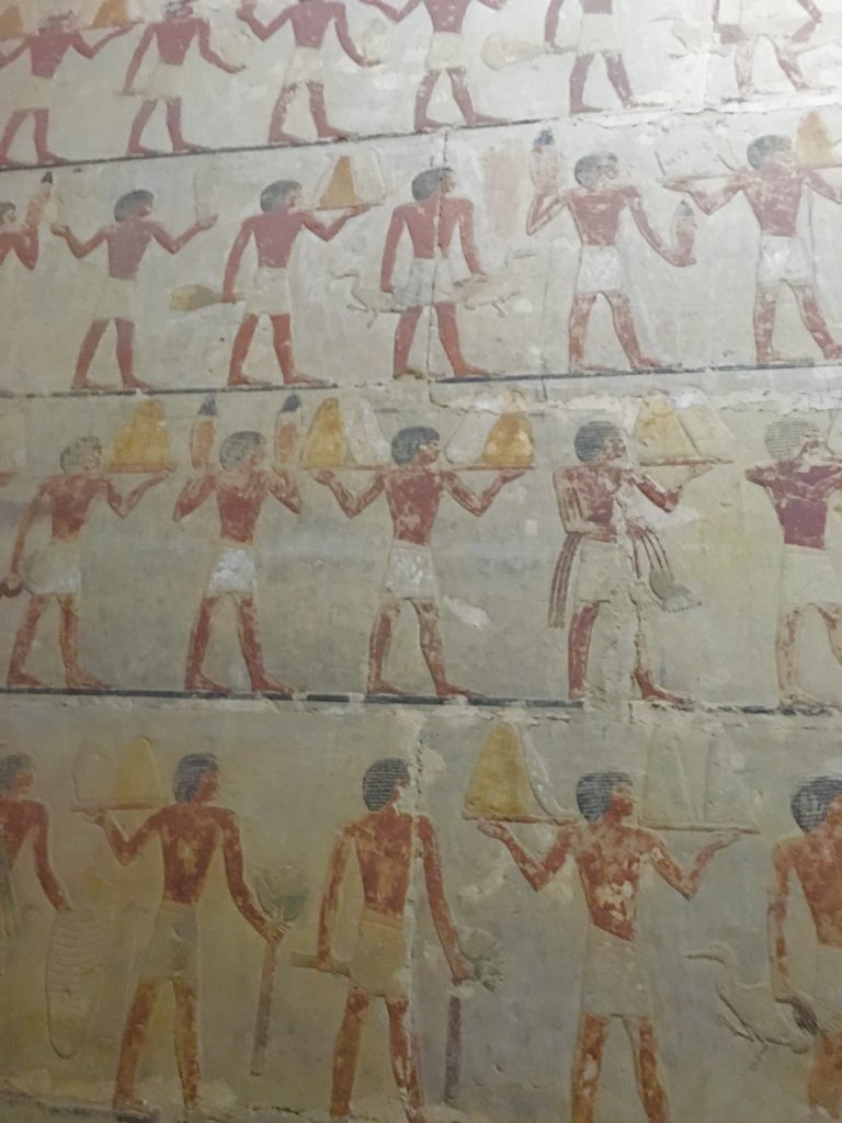 Inside the mastaba of Ti the Master of secret words in Sakkara by Gigal